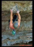 Rock Climbing Photo: clipping one of the last draws