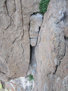 Rock Climbing Photo: Pitch 1 OW from the belay