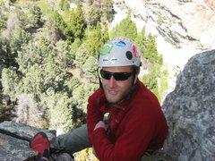 Rock Climbing Photo: 1st pitch belay lost arrow spire