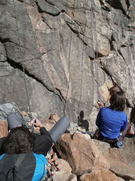 climbing near Vail