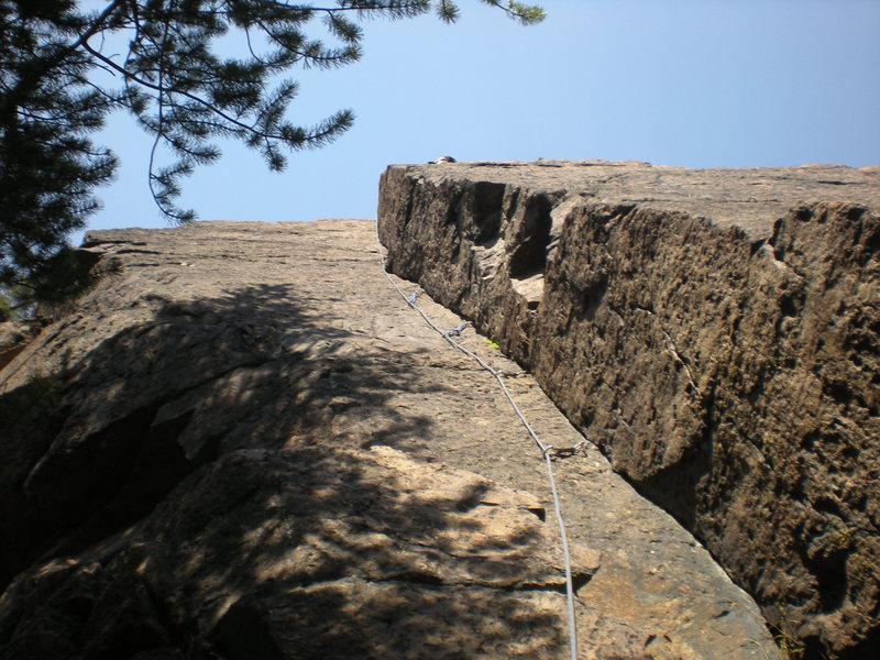 Rock Climbing Photo: first climb ever