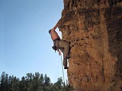 Rock Climbing Photo: Mr. Slate 5.10b