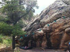 Rock Climbing Photo: Senior Aerobics beta.
