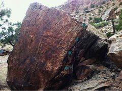 Rock Climbing Photo: Size Matters beta.