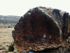 Rock Climbing Photo: Blind Melon beta.