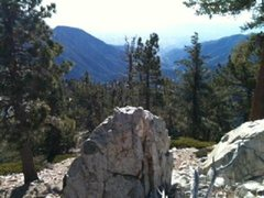 Rock Climbing Photo: view from Mt San Antonio, California