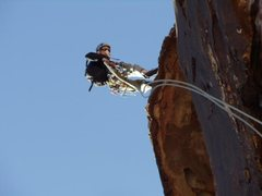 Rock Climbing Photo: Rappin Pitch 3 - Birdland
