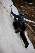Rock Climbing Photo: Dragonfly Creek, February 2012