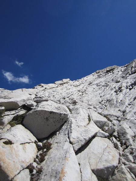 Start of W Ridge of Conness