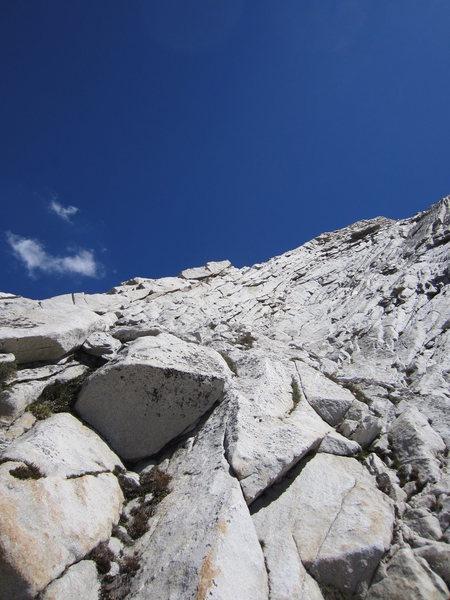 Start of W Ridge of Conness