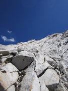 Rock Climbing Photo: Start of W Ridge of Conness