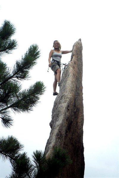 Rock Climbing Photo: Brenda Gossamer Summit
