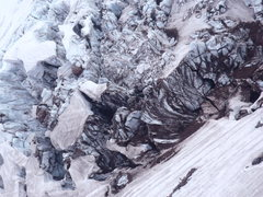 Rock Climbing Photo: Carbon Glacier