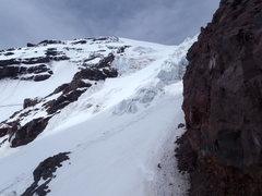 Rock Climbing Photo: Kautz Glacier