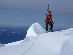 Rock Climbing Photo: Mount Hood and Todd