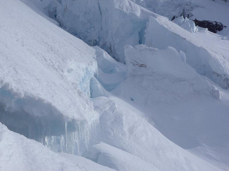Rock Climbing Photo: Nisqually Glacier Navigation