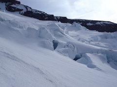 Rock Climbing Photo: Nisqually Glacier Scenic