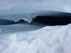 Rock Climbing Photo: Winthrop Glacier Crevasse