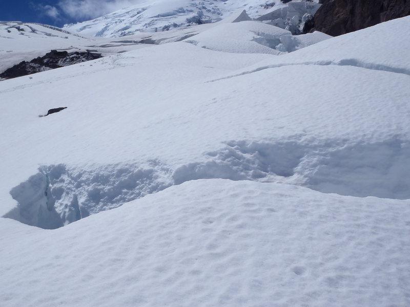 Winthrop Glacier Crossing