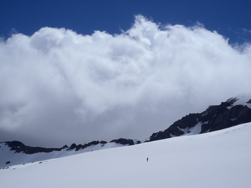 Rock Climbing Photo: Winthrop Glacier at Elmo Pass