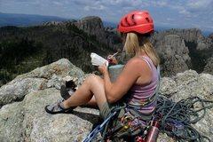 Rock Climbing Photo: Brenda Spire 4 Summit July 2012