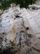 Rock Climbing Photo: Eric Coffman leading Vina Kulafu