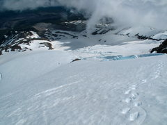 Rock Climbing Photo: Looking back toward the Snow Dome from just below ...
