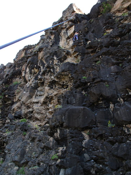 Rock Climbing Photo: J5 on Lava Sundae