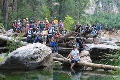 Rock Climbing Photo:  Queen Creek East 4th Years Hike