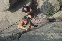 Rock Climbing Photo: Megan