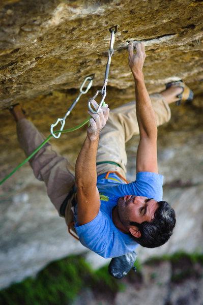 Rock Climbing Photo: I do love limestone.
