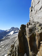 Rock Climbing Photo: looking toward Middle Pal from Galey