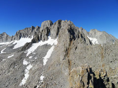 Rock Climbing Photo: traverse from the summit of Temple