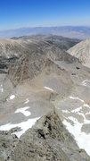 Rock Climbing Photo: looking down the Swiss Arete toward Galey