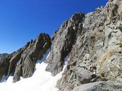 Rock Climbing Photo: Galey summit (center)