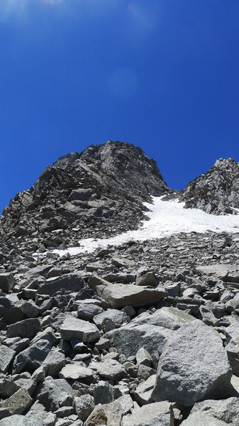 Rock Climbing Photo: Sill from just past Galey Notch