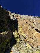 Rock Climbing Photo: chossy 5.7 chimney