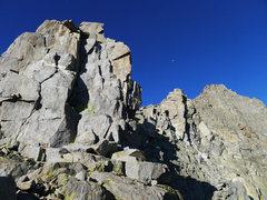 Rock Climbing Photo: final 5.6 headwall
