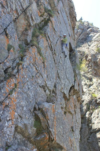 Rock Climbing Photo: The third pitch of The Journey Home.