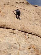 Rock Climbing Photo: Mike Fogarty on FA Swagger