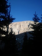 Rock Climbing Photo: A view of the Alpine Lite Cliffs from Lower Chicag...