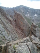 Rock Climbing Photo: Another presumably unclimbed feature on the Alpine...