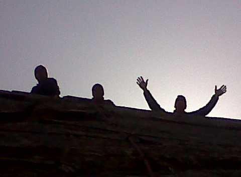 Rock Climbing Photo: three jokers on the gang plank. (backclip, stevie ...