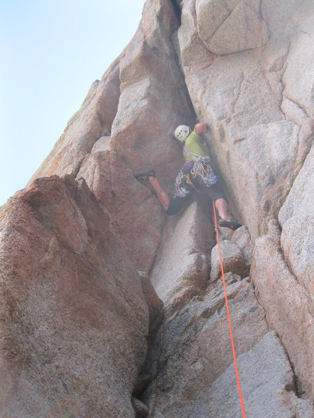 First ascent of Big Jim Slade, 7-1-12.