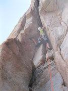 Rock Climbing Photo: First ascent of Big Jim Slade, 7-1-12.
