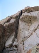 Rock Climbing Photo: Big Jim Slade on the Innuendo Spire in the Alpine ...
