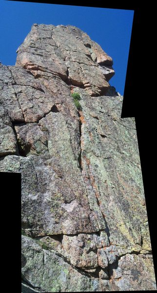 Rock Climbing Photo: Tuna Package on the Innuendo Spire in the Alpine L...