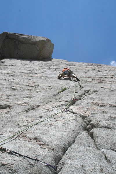Rock Climbing Photo: THE SHARP END!