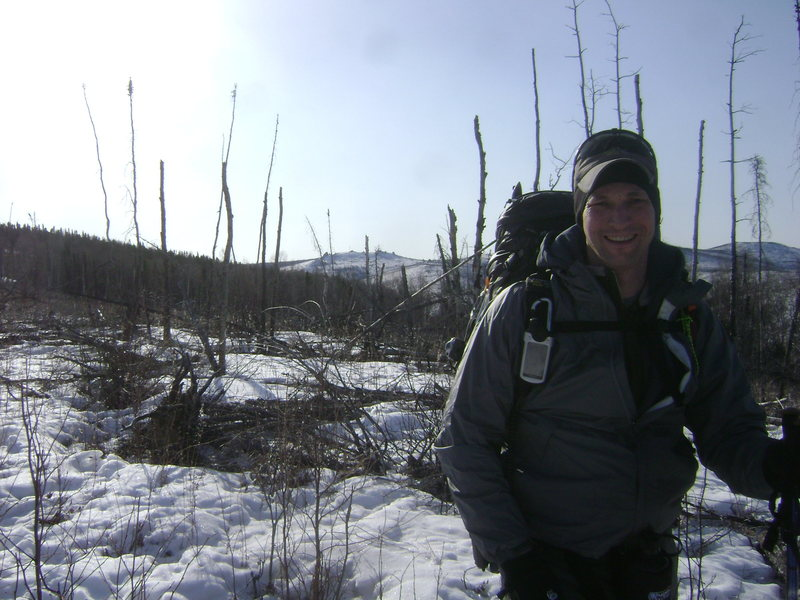 Hiking out to the Granite Tors outside of Fairbanks.