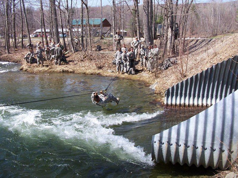 Rock Climbing Photo: Army Mountain Warfare School - Vermont 2008.